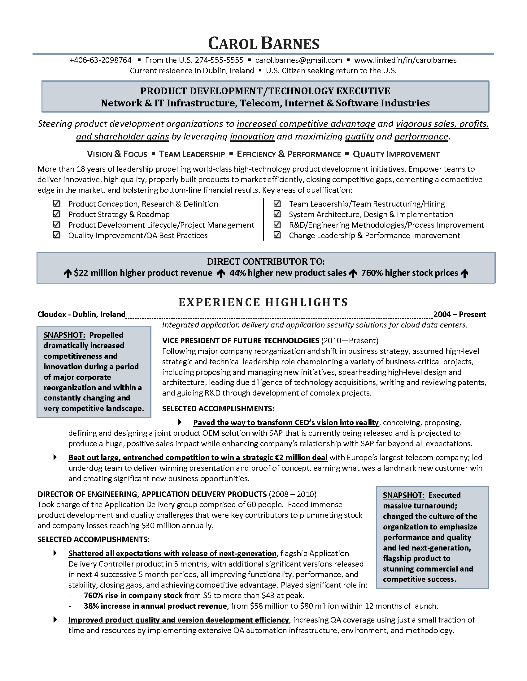 executiveresumeinformationtechnologypagepng also executivelevel information technology resume