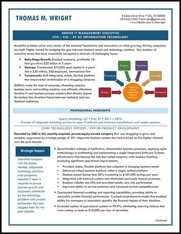 Example CTO/CIO Resume